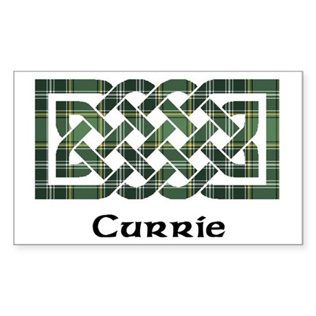 Knot - Currie Sticker (Rectangle)