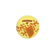 Cheese Puffs Mini Button