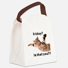 Unique Happy Canvas Lunch Bag