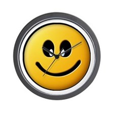 Happy Smiley Wall Clock
