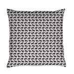 Black Labs Pattern Everyday Pillow