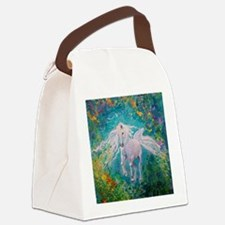 Cute Equine Canvas Lunch Bag