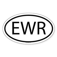 EWR Oval Decal