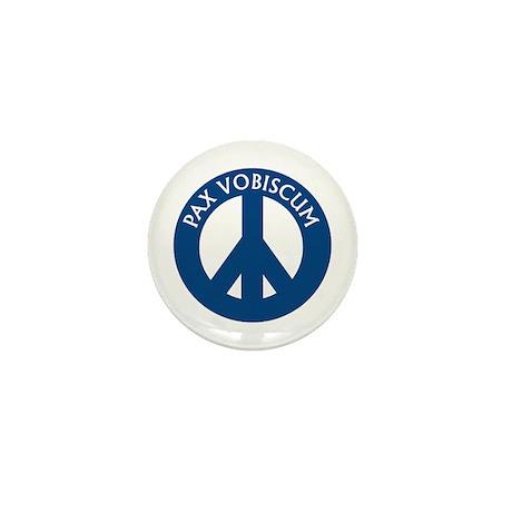 Pax Vobiscum Mini Button (10 pack)