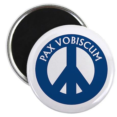 """Pax Vobiscum 2.25"""" Magnet (100 pack)"""