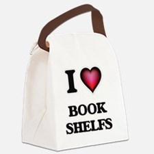 Funny Book shelves Canvas Lunch Bag
