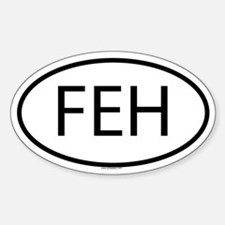 FEH Oval Decal