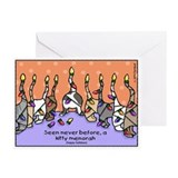 Hanukkah christmas Greeting Cards (10 Pack)