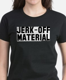 Jerk-Off Material Ash Grey T-Shirt