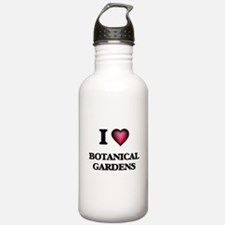 I Love Botanical Garde Water Bottle