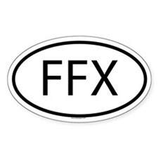 FFX Oval Decal