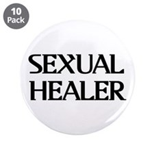"""Sexual Healer 3.5"""" Button (10 pack)"""