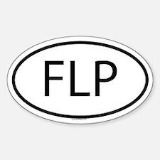 FLP Oval Bumper Stickers