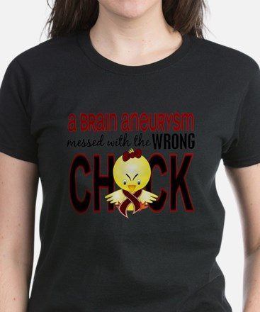 Brain Aneurysm Wrong Chick 1 T-Shirt