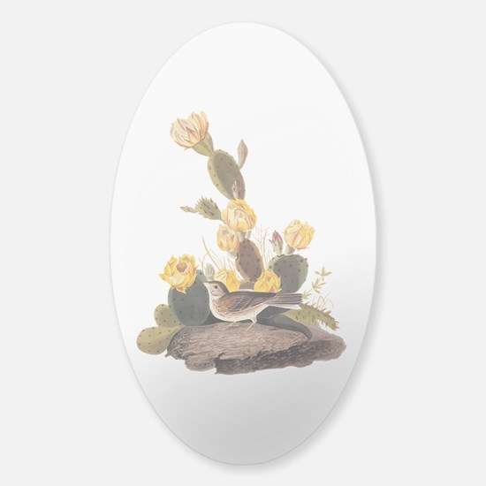 Bay Winged Bunting Vintage Audubon Art Decal