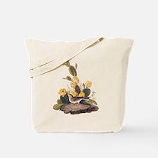Bay Winged Bunting Vintage Audubon Art Tote Bag