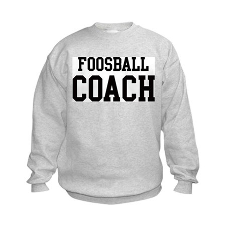 FOOSBALL Coach Kids Sweatshirt