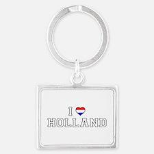 I Love Holland Keychains