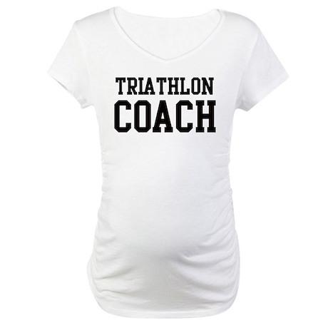 TRIATHLON Coach Maternity T-Shirt