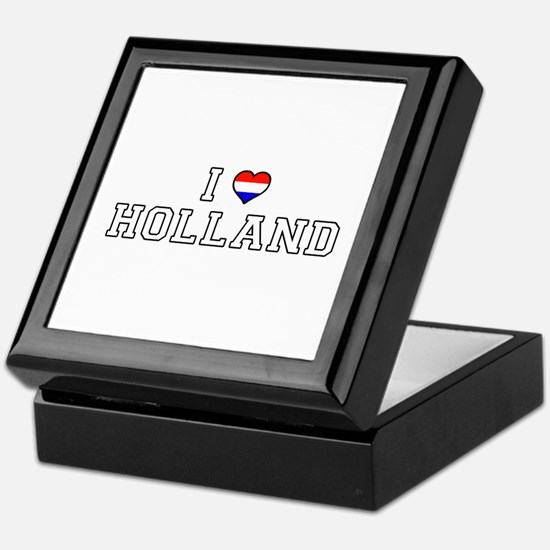 I Love Holland Keepsake Box