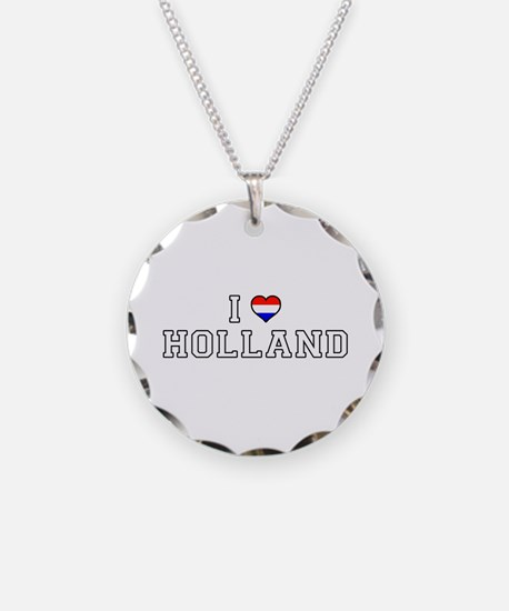 I Love Holland Necklace