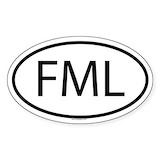 Fml Bumper Stickers