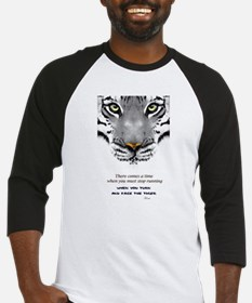 Face The Tiger Baseball Jersey