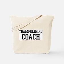 TRAMPOLINING Coach Tote Bag