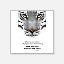 Face The Tiger Sticker