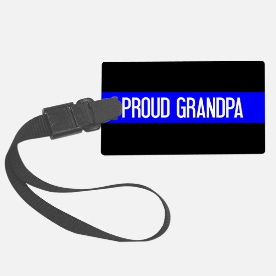 Police: Proud Grandpa (The Thin Large Luggage Tag