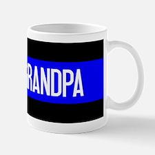 Police: Proud Grandpa (The Thin Blue Li Small Small Mug