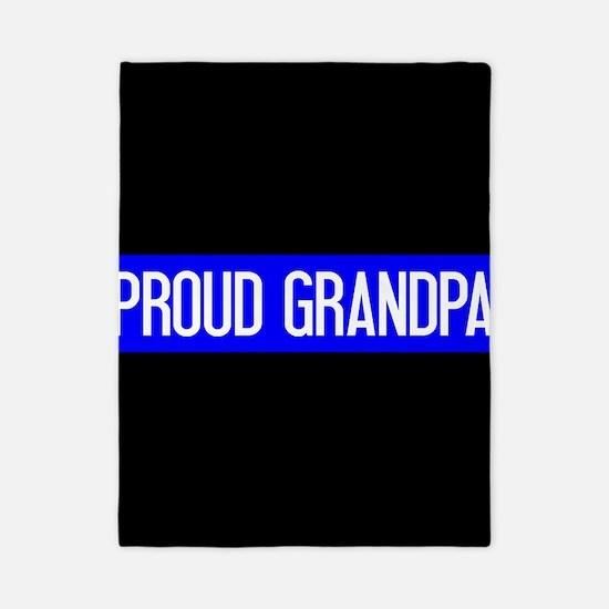 Police: Proud Grandpa (The Thin Blue Li Twin Duvet