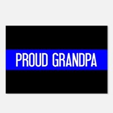 Police: Proud Grandpa (Th Postcards (Package of 8)
