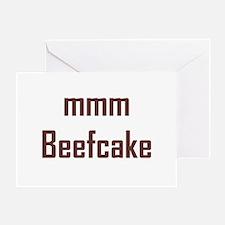 mmm, Beefcake! Greeting Card