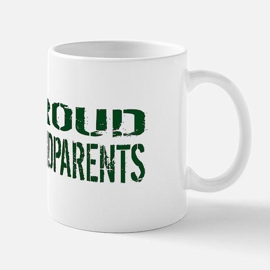 U.S. Army: Proud Grandparents (Green & Mug