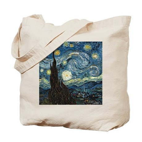 Vincent Van Gogh Starry Night Tote Bag
