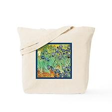 Vincent Van Gogh Irises Tote Bag