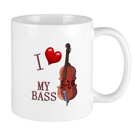 I Love My BASS Mug