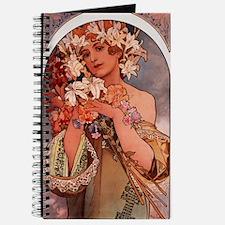 Woman Of Mucha Journal