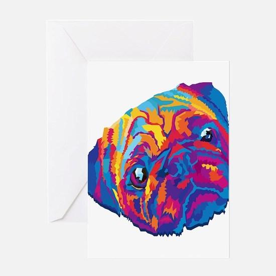 Wpap dog Greeting Cards