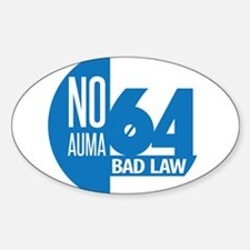 Cute Regulations and law Sticker (Oval)