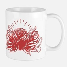 Red Rose Tattoo Mugs