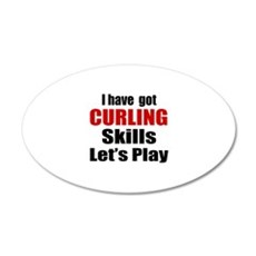 I Have Got Curling Skills Le Wall Decal