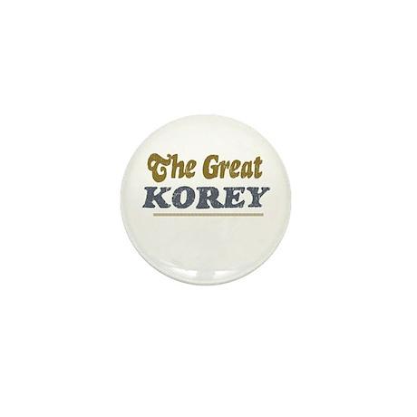 Korey Mini Button