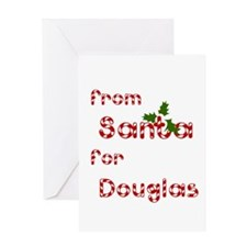 From Santa For Douglas Greeting Card