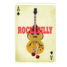 Funny Rockabilly Postcards (Package of 8)