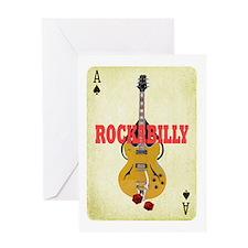 rockabilly tshirt Greeting Cards