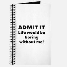 Admit It Journal