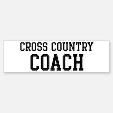 CROSS COUNTRY Coach Bumper Bumper Bumper Sticker
