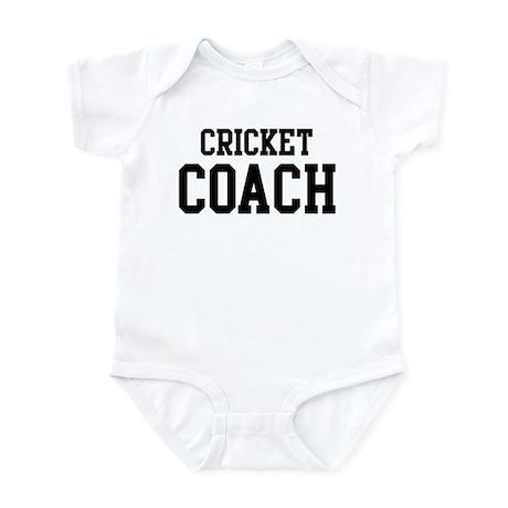 CRICKET Coach Infant Bodysuit